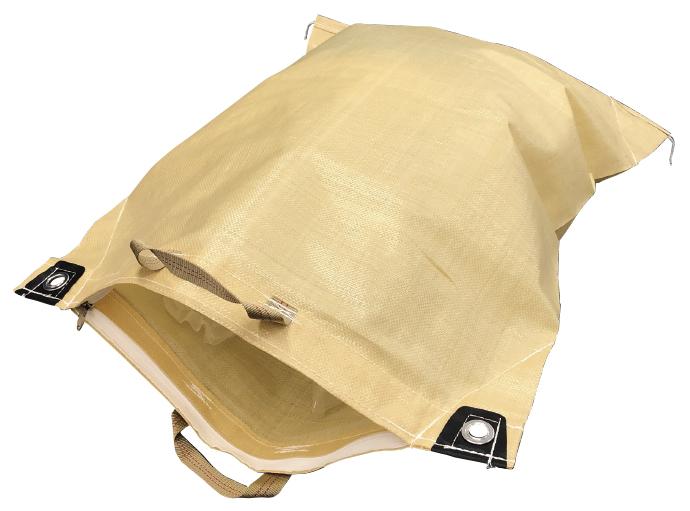 <p>ファスナー・取手付き袋</p>