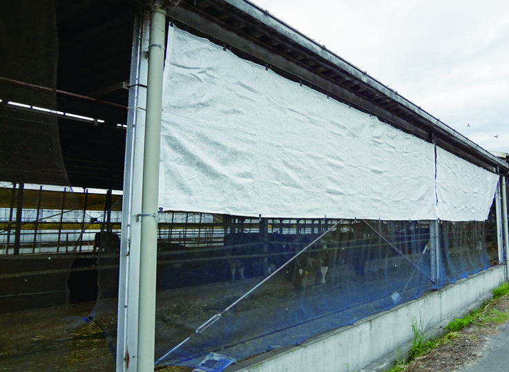 <p>遮熱、飼料の温度上昇抑制、微小害虫忌避による畜産動物のストレス軽減に。</p>